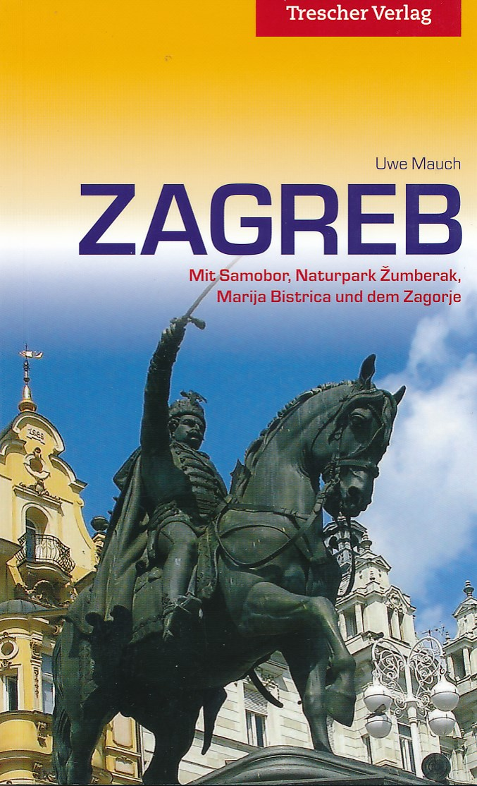 Reisgids Zagreb | Trescher Verlag