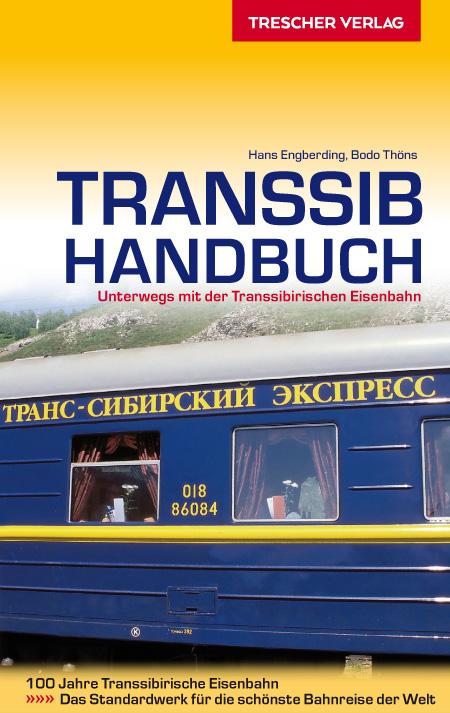 Reisgids Transsib-Handbuch - Trans Siberië express | Trescher Verlag