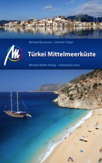 Reisgids Türkei Mittelmeerküste - Turkije middellandse zeekust | Michael Müller Verlag