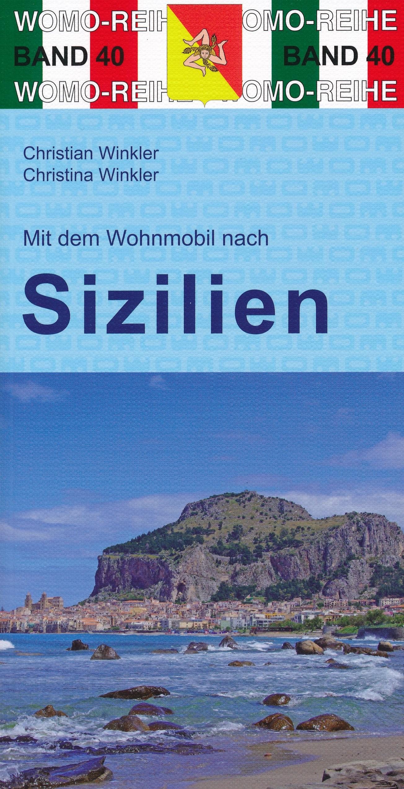 Online bestellen: Campergids 40 Mit dem Wohnmobil nach Sizilien - Camper Sicilië | WOMO verlag