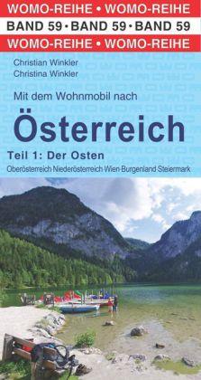 Campergids 59 Mit dem Wohnmobil nach Österreich (Ost) | WOMO verlag