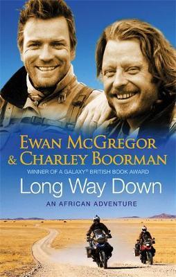 Reisverhaal Long Way Down | Ewan McGregor & Charley Boorman <br/>€ 14.50 <br/> <a href='https://www.dezwerver.nl/reisgidsen/?tt=1554_252853_241358_&r=https%3A%2F%2Fwww.dezwerver.nl%2Fr%2Fafrika%2Fc%2Fboeken%2Freisverhalen%2F9780751538953%2Freisverhaal-long-way-down-ewan-mcgregor-charley-boorman%2F' target='_blank'>Meer Info</a>