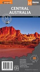 Wegenkaart - landkaart Central Australia - Centraal Australië | Hema Maps