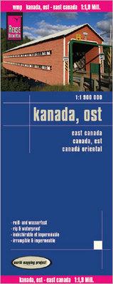 Wegenkaart - landkaart Canada oost - Kanada ost | Reise Know-How Verlag