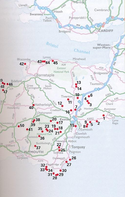 50 Walks in Devon (AA 50 Walks series) by AA Publishing