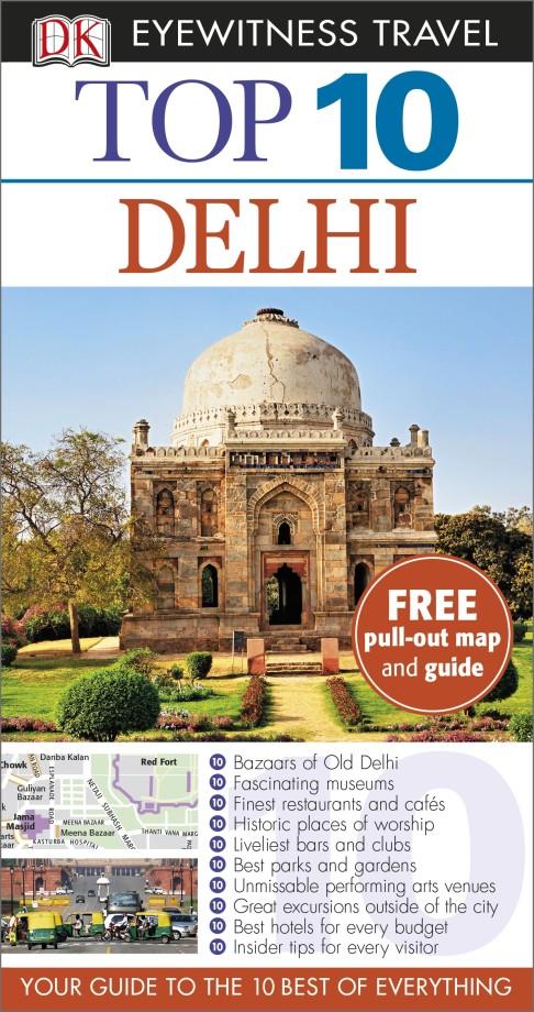 Reisgids Eyewitness Top 10 Delhi | DK