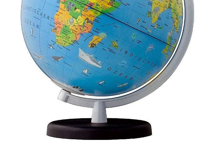 Kinderglobe 9 Terra | Columbus | 9783871297472 | Reisboekwinkel De ...