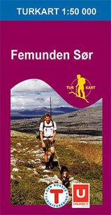 Wandelkaart 2722 Femunden Zuid Sor, Topografische Kaart Turkart Noorwegen | Statens Ugland It |
