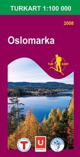 Wandelkaart 2718 Oslomarka Topografische Kaart Turkart Noorwegen| Statens Ugland It |