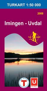 Wandelkaart 2704 Imingen Uvdal Topografische Kaart Turkart Noorwegen | Statens Ugland It |