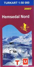Wandelkaart 2687 Hemsedal Nord Noord, Topografische Kaart Turkart Noorwegen | Statens Ugland It |