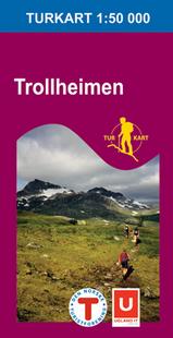 Wandelkaart 2611 Trollheimen , Topografische Kaart Turkart Noorwegen | Statens Ugland It |