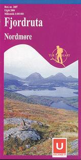 Wandelkaart 2607 Fjordruta Nordmøre, Topografische Kaart Turkart Noorwegen | Statens Ugland It |