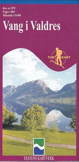 Wandelkaart 2579 Vang I Valdres, Topografische Kaart Turkart Noorwegen | Statens Ugland It |