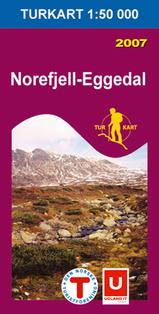 Wandelkaart 2525 Norefjell Eggedal, Topografische Kaart Turkart Noorwegen | Statens Ugland It |