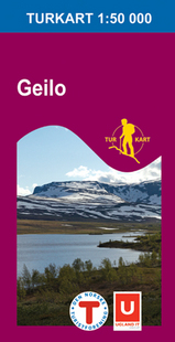 Wandelkaart 2515 Geilo Ål Nore Og Uvdal Hol, Topografische Kaart Turkart Noorwegen | Statens Ugland It |