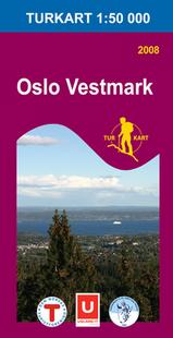 Wandelkaart 2427 Oslo Vestmark , Topografische Kaart Turkart Noorwegen | Statens Ugland It |