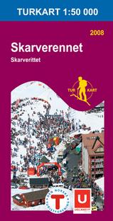 Wandelkaart 2703 Skarverennet Geilo, Topografische Kaart Turkart Noorwegen | Statens Ugland It |