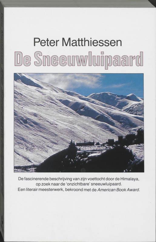 Reisverhaal De Sneeuwluipaard | Peter Matthiesen <br/>€ 22.00 <br/> <a href='https://www.dezwerver.nl/reisgidsen/?tt=1554_252853_241358_&r=https%3A%2F%2Fwww.dezwerver.nl%2Fr%2Fazie%2Fnepal%2Fc%2Fboeken%2Freisverhalen%2F9789063500146%2Freisverhaal-de-sneeuwluipaard-peter-matthiesen%2F' target='_blank'>Meer Info</a>