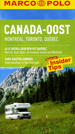Reisgids Canada-Oost | Marco Polo |