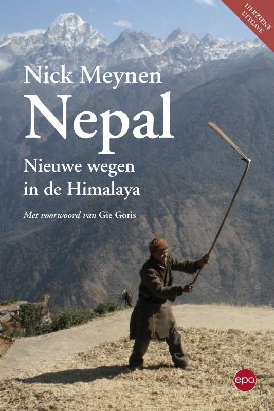 Reisverhaal Nepal - Nieuwe wegen in de Himalaya | Nick Meynen <br/>€ 19.50 <br/> <a href='https://www.dezwerver.nl/reisgidsen/?tt=1554_252853_241358_&r=https%3A%2F%2Fwww.dezwerver.nl%2Fr%2Fazie%2Fnepal%2Fc%2Fboeken%2Freisverhalen%2F9789462670693%2Freisverhaal-nepal-nieuwe-wegen-in-de-himalaya-nick-meynen%2F' target='_blank'>Meer Info</a>