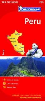 Landkaarten en wegenkaarten Peru