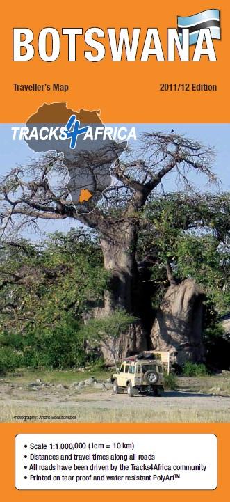 Landkaarten en wegenkaarten Botswana