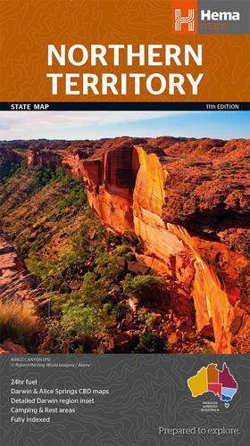 Landkaarten Australie