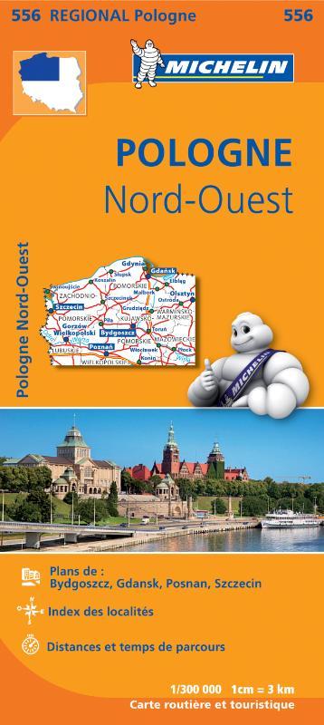 Wegenkaart - landkaart 556 Polen Noord-West | Michelin