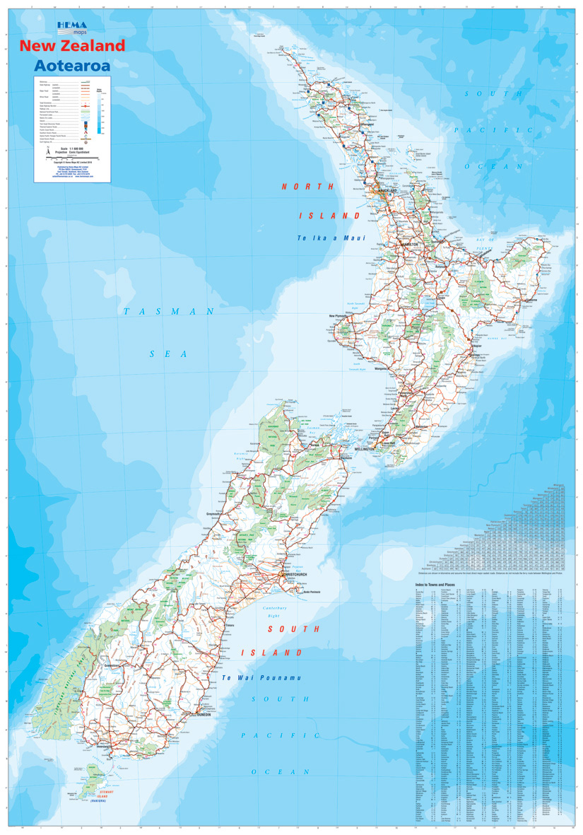 Kaart Nieuw Zeeland Vector Illustratie Illustratie Bestaande Uit