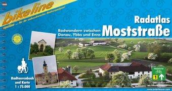 Fietsgids Bikeline Moststraße Radfahren zwischen Donau, Ybbs und Enns | Esterbauer