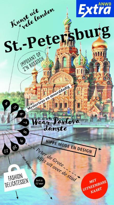 Reisgids ANWB extra St. Petersburg | ANWB Media de zwerver